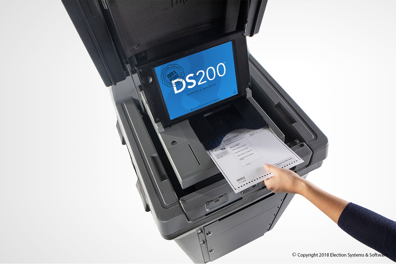 The DS200 Is Secure Ballot Scanning And Tabulating Technology