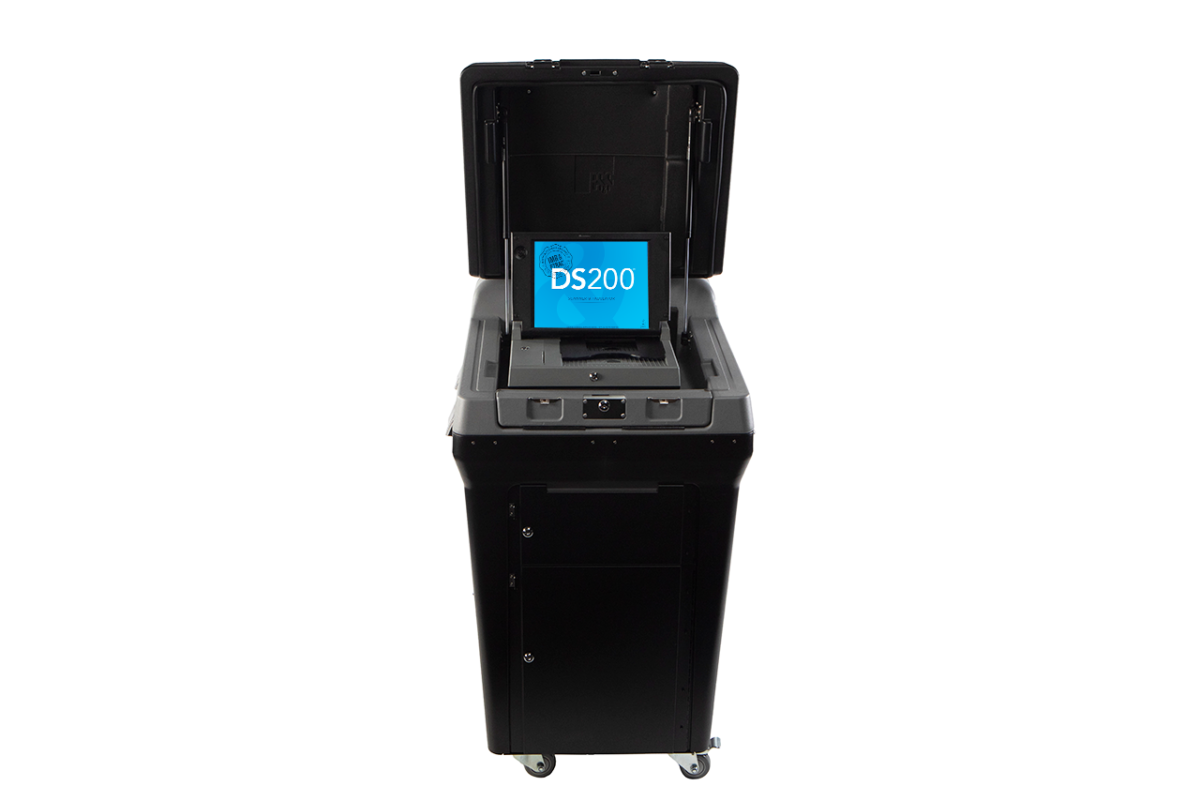 The DS200 Precinct Scanner And Tabulator