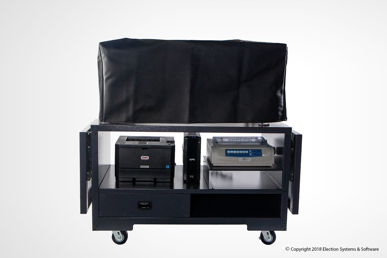 The DS450 Is Easily And Securely Stored
