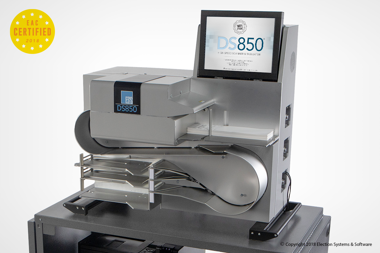 The DS850 High Speed Scanner And Tabulator