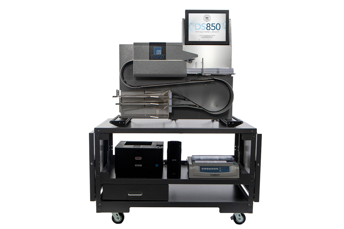 DS850 High-Throughput Central Scanner And Tabulator