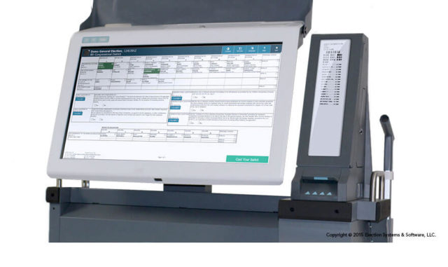 The ExpressVote XL Paper Based Universal Voting System