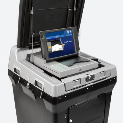 DS200 precinct-based ballot scanner and vote tabulator