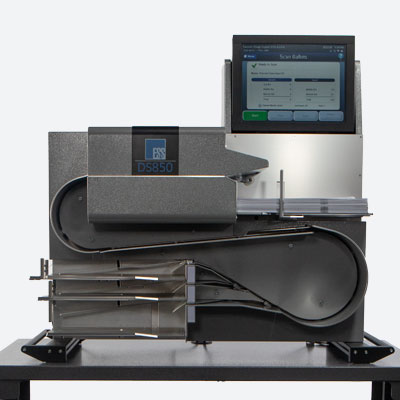 DS850 high‐throughput scanner and vote tabulator