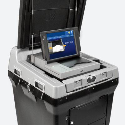 DS200 precinct-based ballot scanner and vote tabulator