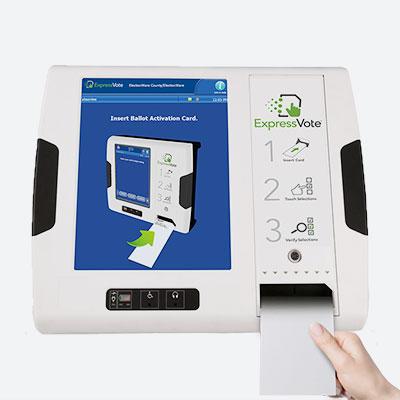 ExpressVote Universal Voting System